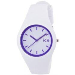 Ice-Watch ICE.CY.PE.U.S.13 Ice CRAZY Crazy purple Unisex Uhr Unisex Armbanduhr Damen Herren Uhr Kautschuk Kunststoff 100m Analog weiss