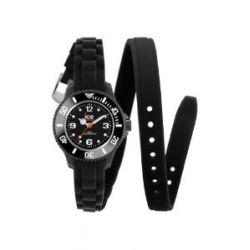 Ice-Watch Damen-Armbanduhr Ice-Twist Mini schwarz TW.BK.M.S.12
