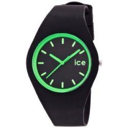 Ice-Watch ICE.CY.GN.U.S.13 Ice CRAZY Crazy green Unisex Uhr Unisex Armbanduhr Damen Herren Uhr Kautschuk Kunststoff 100m Analog schwarz