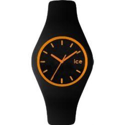 Ice-Watch ICE.CY.OE.U.S.13 Ice CRAZY Crazy Orange Unisex Uhr Unisex Armbanduhr Damen Herren Uhr Kautschuk Kunststoff 100m Analog schwarz
