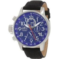 Invicta 1513 Men's Blue 1/10 Second Lefty Chronograph