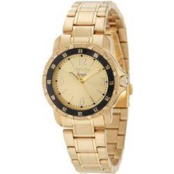 Invicta Damen 0550 Angel Collection 18K vergoldeten Uhr aus Edelstahl