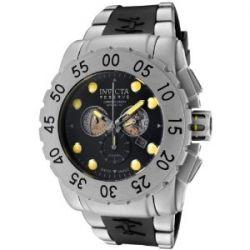 Invicta Herren-Armbanduhr XL Chronograph Kautschuk 799