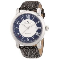 Jean Marcel Herren-Armbanduhr XL CLARUS Analog Automatik Leder 960,251,46