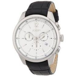 Joop Herren-Armbanduhr XL Observer Analog Quarz Leder JP101171F01