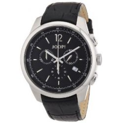 Joop Herren-Armbanduhr XL Observer Analog Quarz Leder JP101171F03