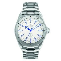 Junghans Herren-Armbanduhr XL Bogner Willy Blue Automatlc Analog Automatik Edelstahl 027/3210.44