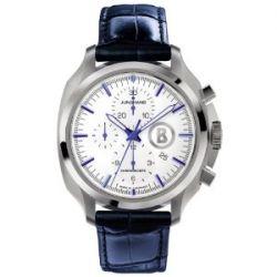 Junghans Herren-Armbanduhr XL Bogner Willy Chronoscope Chronograph Automatik Leder 027/4260.00