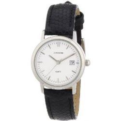 Junghans Damen-Armbanduhr XS Junghans Essential Analog Quarz Leder 474205