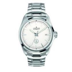 Junghans Herren-Armbanduhr XL Bogner Willy Automatic Analog Automatik Edelstahl 027/4282.44