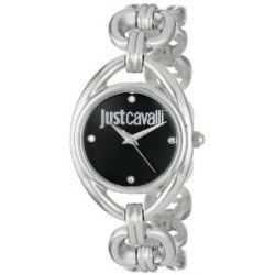 Just Cavalli Damen-Armbanduhr Drop Analog Edelstahl R7253182503