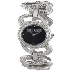 Just Cavalli Damen-Armbanduhr Sinuous Analog Quarz Edelstahl R7253577504