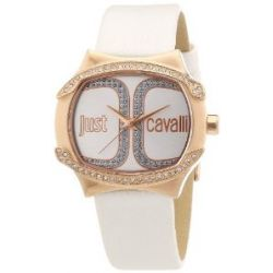 Just Cavalli Damen-Armbanduhr Born Analog Quarz Leder R7251581501