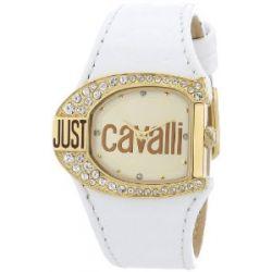 Just Cavalli Logo Damen-Armbanduhr Just time, mit Kristallen R7251160575
