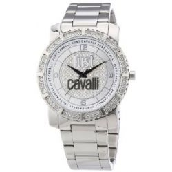 Just Cavalli Damen-Armbanduhr Feel Analog Quarz Edelstahl R7253582504