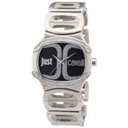 Just Cavalli Damen-Armbanduhr Born Analog Quarz Edelstahl R7253581503