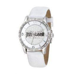 Just Cavalli Damen-Armbanduhr Huge Analog Leder R7251127503