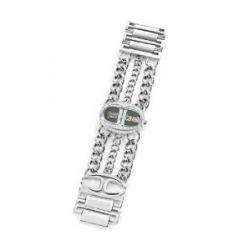 Just Cavalli Damen-Armbanduhr Trinity Analog Edelstahl R7253184503
