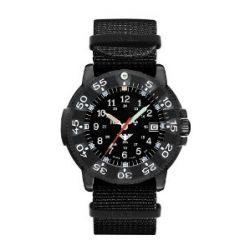 KHS Dark Commander Titan Pro Blue H3 Uhr - Operation Timer - Nato-Armband