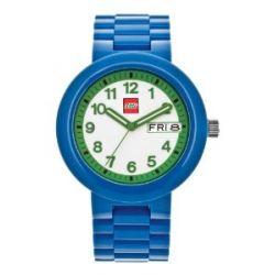 LEGO Erwachsenen Uhr - Classic blau/grün