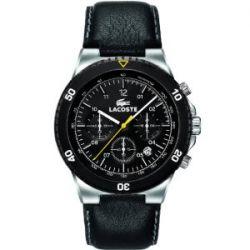 Lacoste Herren-Armbanduhr XL TORONTO Chronograph Leder 2010537