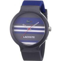 Lacoste Unisex-Armbanduhr GOA Analog Silikon 2010573