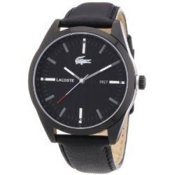 Lacoste Herren-Armbanduhr XL MONTREAL Analog Leder 2010598