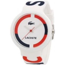 Lacoste Unisex-Armbanduhr GOA Analog Silikon 2020030