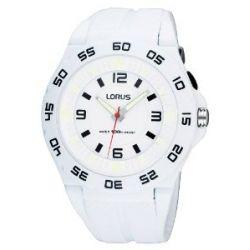 Lorus Unisex-Armbanduhr XL Fashion Analog Quarz Kautschuk R2341FX9