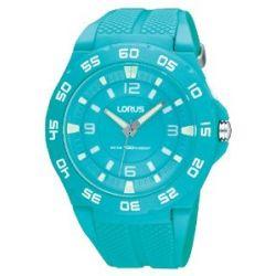 Lorus Unisex-Armbanduhr XL Fashion Analog Quarz Kautschuk R2347FX9