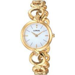 Lorus Damen-Armbanduhr Fashion Analog Quarz Edelstahl beschichtet RRW14EX9