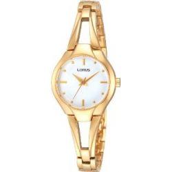 Lorus Damen-Armbanduhr Fashion Analog Quarz Edelstahl beschichtet RRS28UX9