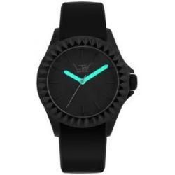 LTD Watch Unisex-Armbanduhr Black Silicon Analog Silikon schwarz LTD 290110