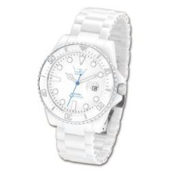Ltd Watch Damen-Armbanduhr Ltd Watch Ceramic Analog Keramik Weiß LTD-020620