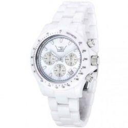 LTD Watch Unisex-Armbanduhr Ceramic Analog Keramik weiß LTD 020611