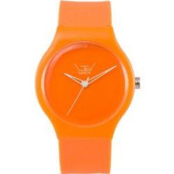 LTD Watch Unisex-Armbanduhr Essentails Analog Kunststoff orange LTD 101201