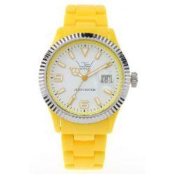 LTD Watch Unisex-Armbanduhr Plastic Ex Analog Kunststoff gelb LTD 051002