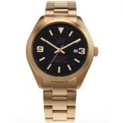 LTD WATCH Unisex-Armbanduhr Steel Ex Analog Edelstahl gold 280303