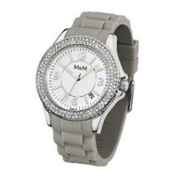 M&M Damen-Armbanduhr Sport M11846-943