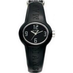 Mango QM731.99.01 Ladies Bango Black Dial with Ceramic Plastic Case Watch