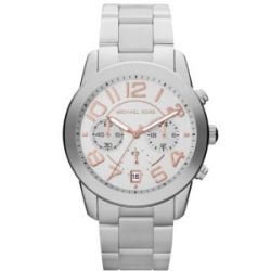 Michael Kors Damen-Armbanduhr Chronograph Quarz Edelstahl MK5725