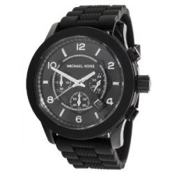 Micheal Kors Herren-Armbanduhr XL Analog Quarz Edelstahl MK8181