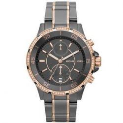 Micheal Kors Damen-Armbanduhr XL Analog Quarz Edelstahl MK5554