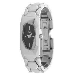 Misaki Damen Armbanduhr Silber QCRWKRYPTO