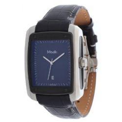Misaki Herren Armbanduhr Schwarz QCRW7E