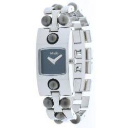 Misaki Damen Armbanduhr Silber QCRWCITY