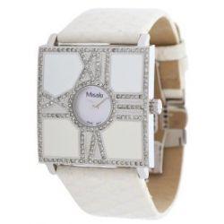 Misaki Damen Armbanduhr Weiß PCUWSCALA