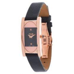 Misaki Damen Armbanduhr Schwarz PWAPHRODITE