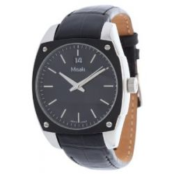 Misaki Herren Armbanduhr Schwarz QCRWMC98M7