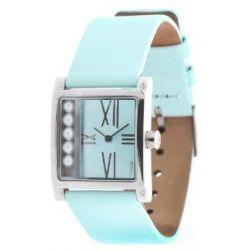 Misaki Damen Armbanduhr Hellblau QCRWCASINO
